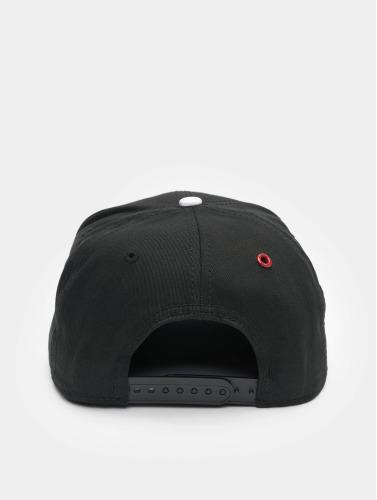 MSTRDS Snapback Cap O Letter in schwarz