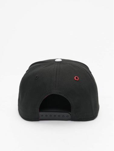 MSTRDS Snapback Cap X Letter in schwarz