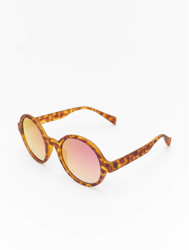 MSTRDS Sonnenbrille Retro Funk Polarized Mirror in braun