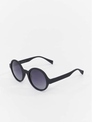 MSTRDS Sonnenbrille Retro Funk Polarized Mirror in schwarz