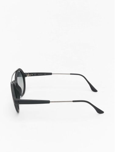 MSTRDS Sonnenbrille Retro Space Polarized Mirror in schwarz