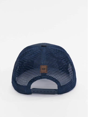MSTRDS Trucker Cap Money Clip in blau