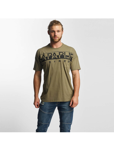 Napapijri Herren T-Shirt Saumur in grün