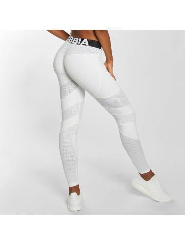 Footaction Online-Verkauf Zuverlässig Günstiger Preis Nebbia Damen Legging Mesh in weiß Wo Niedrigen Preis Kaufen 6UEsC5