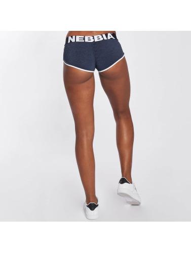 Nebbia Damen Shorts Hem in blau