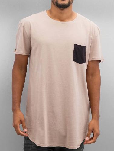 NEFF Hombres Camiseta Bosley Pocket in beis