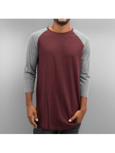 NEFF Hombres Camiseta de manga larga Miller Raglan in rojo