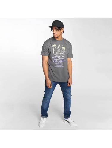 NEFF Hombres Camiseta Bike Rental in gris