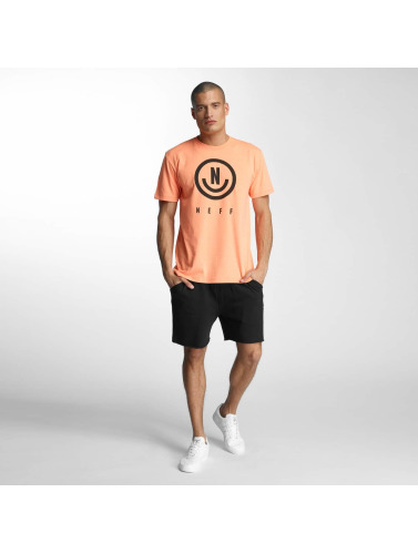 NEFF Hombres Camiseta Neu in naranja
