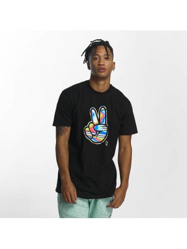 NEFF Hombres Camiseta Peeace in negro