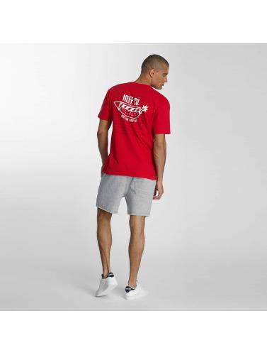 NEFF Hombres Camiseta Fire Dog in rojo