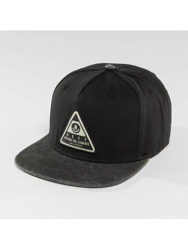 NEFF Snapback Cap X Wash in schwarz