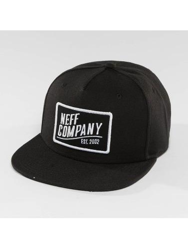 NEFF Snapback Cap Station 2 in schwarz