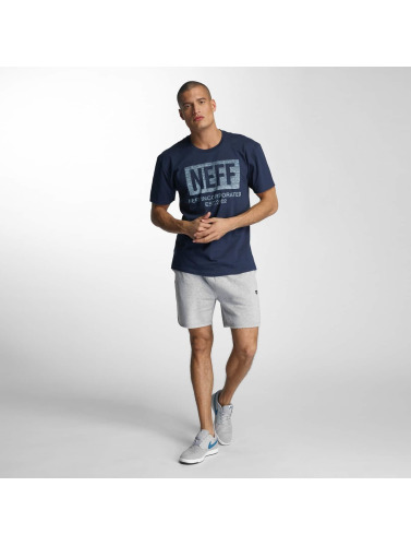 NEFF Herren T-Shirt New World Push in blau