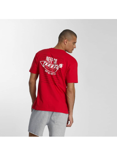 NEFF Herren T-Shirt Fire Dog in rot