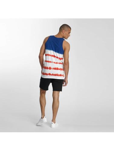 NEFF Hombres Tank Tops Dye Stripes in azul