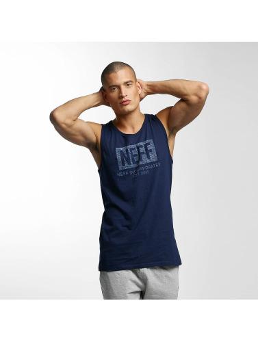 NEFF Hombres Tank Tops New World Push in azul