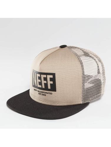 NEFF Trucker Cap Corpo in beige