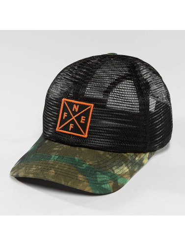 NEFF Trucker Cap Coolman in camouflage