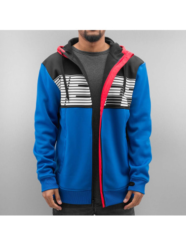 NEFF Herren Zip Hoodie Flint Shredder in blau
