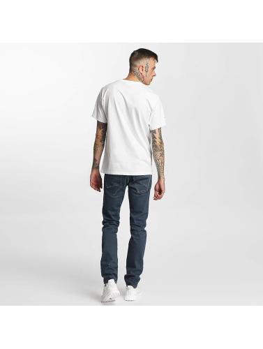 New Balance Hombres Camiseta Athletic Main LG in blanco