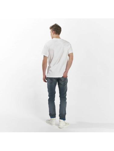 stor rabatt online offisielle billig online Ny Balanse Hombres Camiseta Mt73581 In Blanco billig pris kostnaden utmerket billig pris billig salg No9MCF