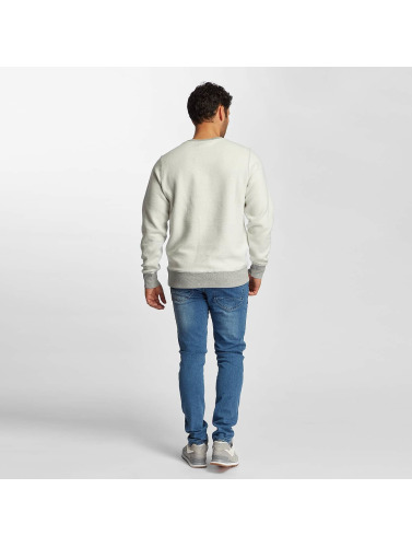 New Balance Herren Pullover Essentials Crew Reverse in grau