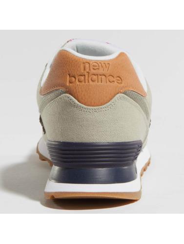 New Balance Hombres Zapatillas de deporte ML574 D YLD in gris
