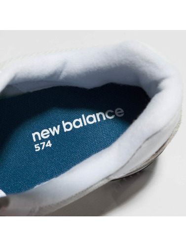 New Balance Mujeres Zapatillas de deporte WL574 B EW in gris