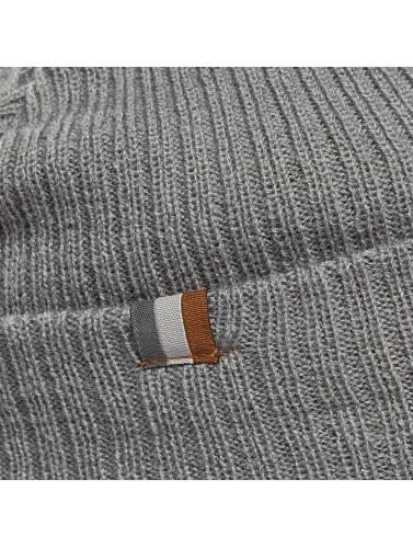 New Era Beanie Lightweight Cuff Knit in grau