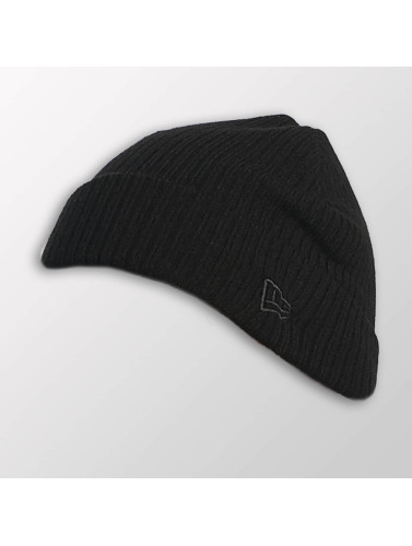 New Era Beanie Lightweight Cuff Knit in schwarz
