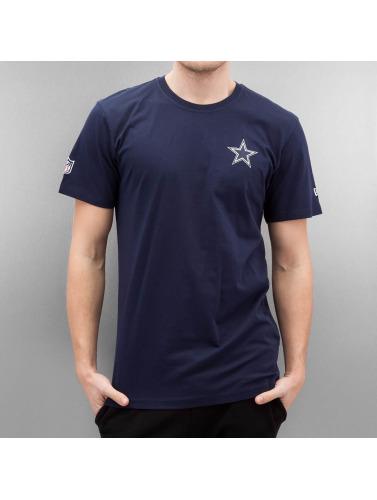 New Era Hombres Camiseta Team Apparel in azul