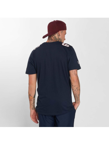 New Era Hombres Camiseta Dryera New England Patriots in azul