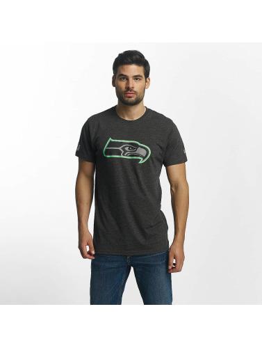 New Era Hombres Camiseta Two Tone Pop in gris