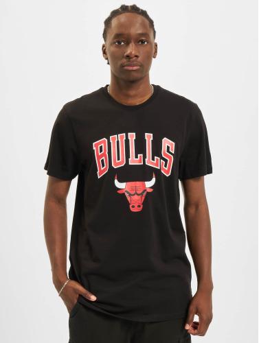 New Era Hombres Camiseta Team Logo Chicago Bulls in negro