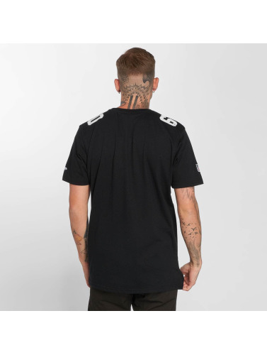 New Era Hombres Camiseta Dryera Oakland Raiders in negro