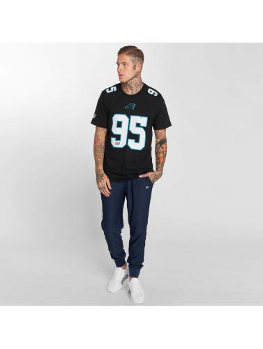 New Era Hombres Camiseta Dryera Carolina Panthers in negro