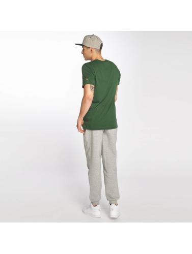 New Era Hombres Camiseta Dryera Green Bay Packers in verde