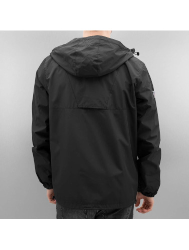 New Era Hombres Chaqueta de entretiempo Border Edge in negro