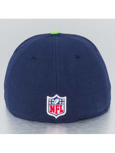 New Era Fitted Cap NFL On Field Seattle Seahawks 59Fifty in blau