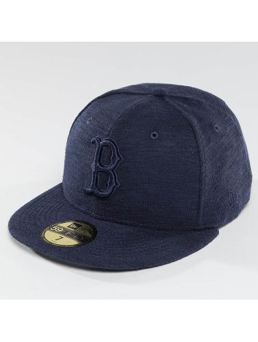 New Era Fitted Cap Slub in blau
