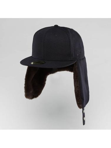 New Era Fitted Cap Premium Classic Dogear 59Fifty in blau