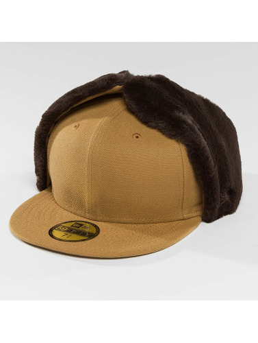 New Era Fitted Cap Premium Classic Dogear 59Fifty in braun