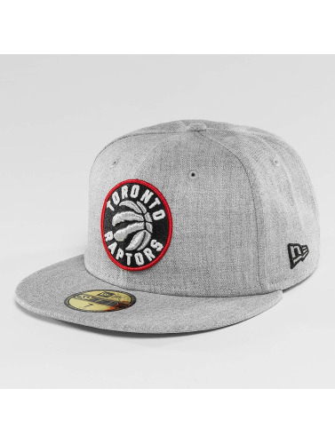New Era Fitted Cap NBA Toronto Raptors Heather Fitted in grau