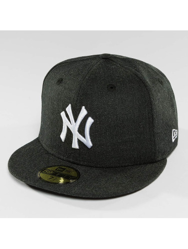 New Era Fitted Cap Seasonal Heather NY Yankees 95Fifty in grau