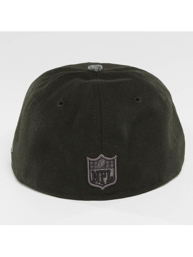 New Era Fitted Cap Grey Collection Seattle Seahawks 59Fifty in schwarz