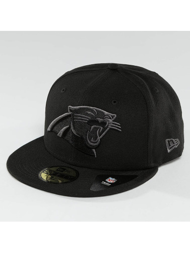 New Era Fitted Cap Black Graphite Carolina Panthers 59Fifty in schwarz