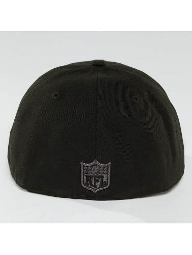 New Era Fitted Cap Black Graphite New England Patriots 59Fifty in schwarz