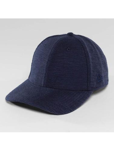 New Era Flexfitted Cap Slub 39Thirty in blau