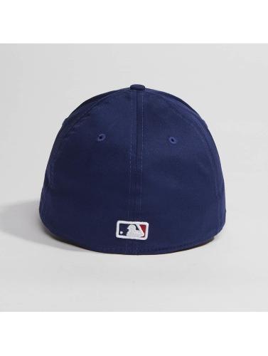 New Era Flexfitted Cap Washed Team Colour LA Dodgers in blau
